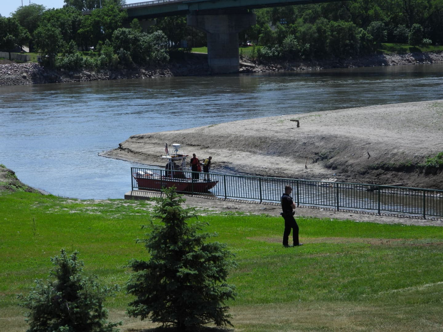 Male Body Recovered From Perry Creek at Missouri River