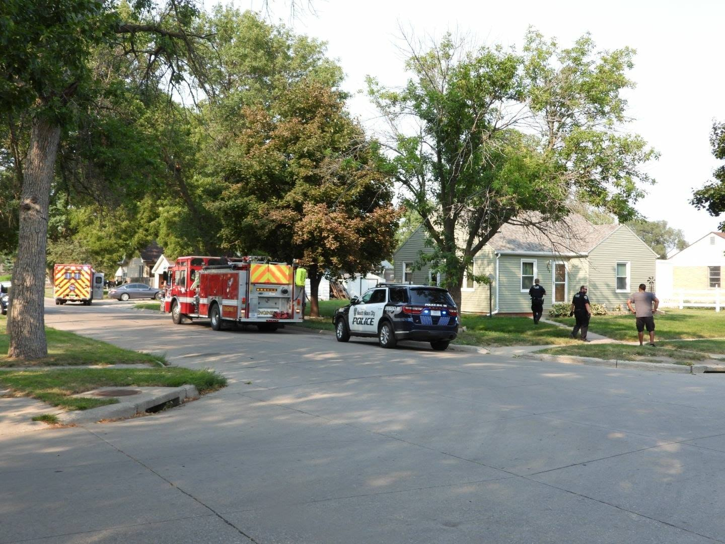 Man struck twice in South Sioux received non-life-threatening injuries