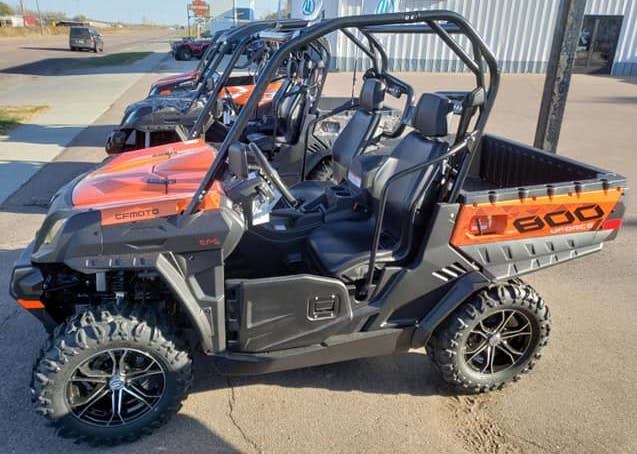 Labor day morning burglary and theft of ATV from local Sioux City business on Highway 75